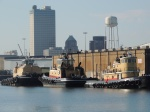 Tugboats in Mobile